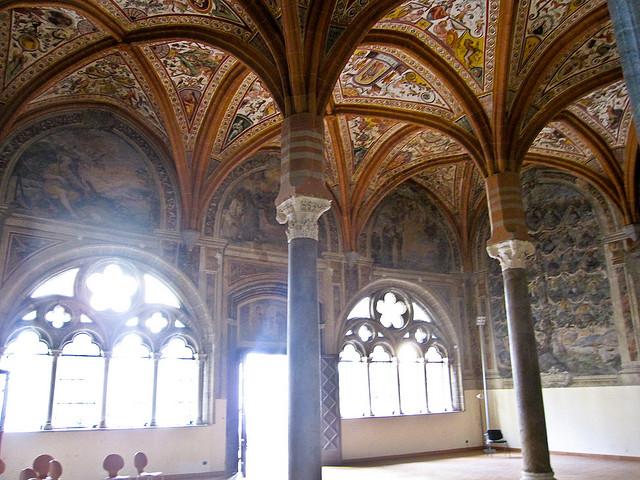 La Sala Capitolare di San Lorenzo Maggiore a Napoli | Foto (CC) di Armando Mancini su Flickr