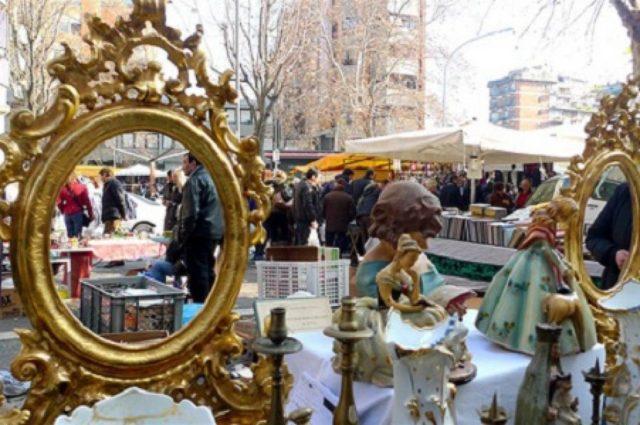 mercatino villa comunale