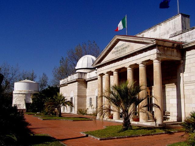Osservatorio astronomico di Capodimonte a Napoli