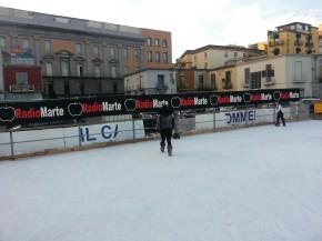 pista pattinaggio su ghiaccio napoli 2012-2013