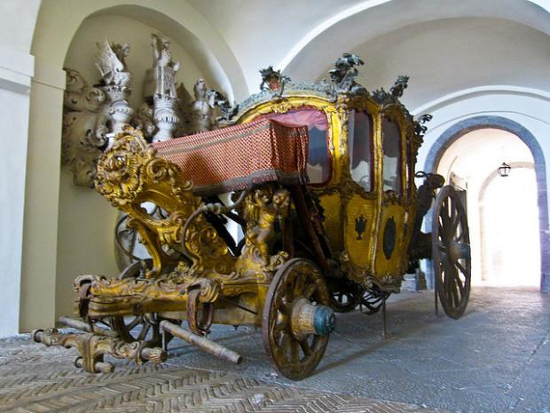 carrozze museo certosa di san martino