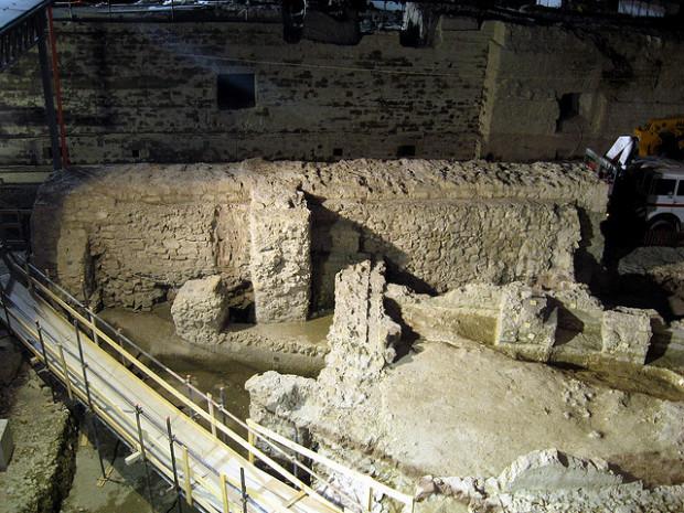 scavi piazza municipio