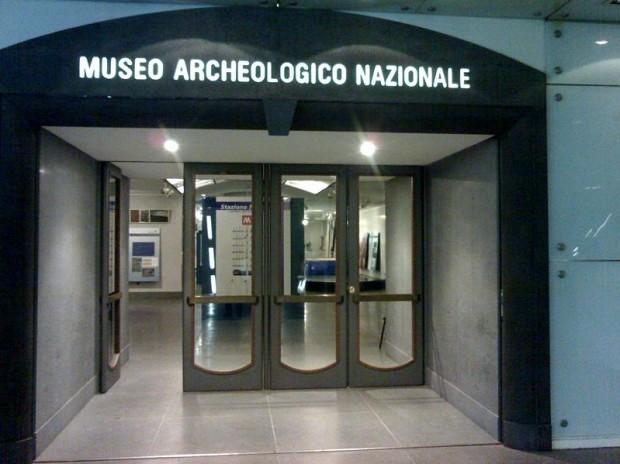 stazione neapolis museo archeologico nazionale