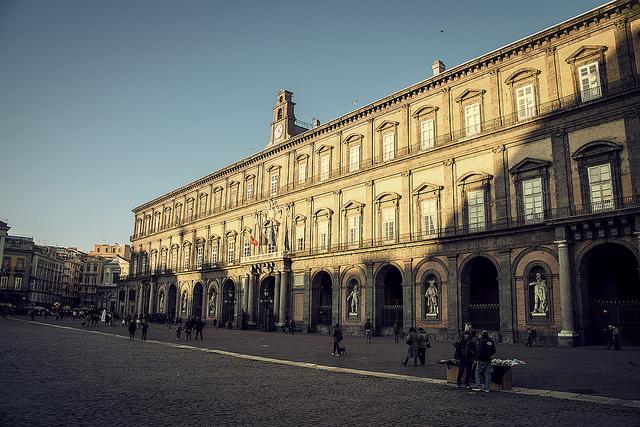 Palazzo reale nella Notte dei musei a Napoli