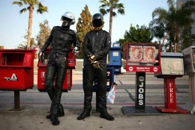 Daft-Punk a pompei le prime canzoni