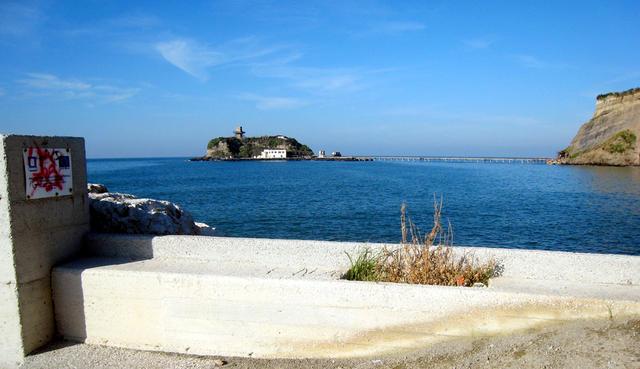 Isolotto di San Martino spiagge in campania