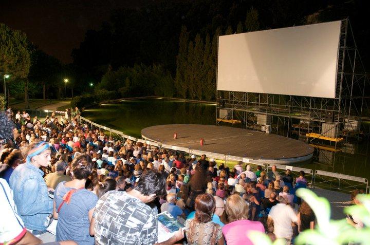 Risultati immagini per parco del poggio film all aperto