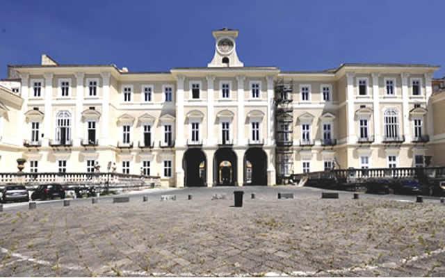 Visite guidate alla reggia e al museo ercolanense di for Foto di portici in pietra