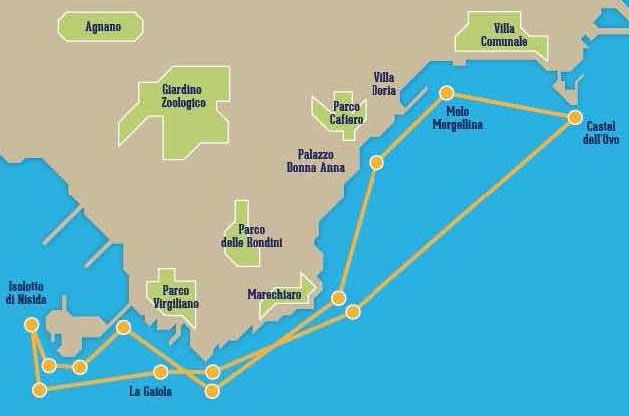 itinerario bateau mouche alilauro