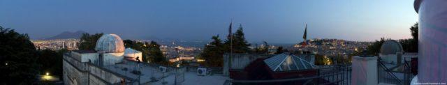 panorama osservatorio astronomico di capodimonte