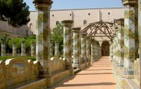 Basilica di Santa Chiara: riaprono i giardini e il campanile