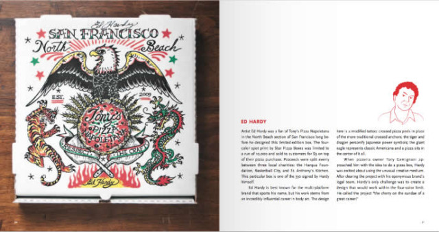 Il libro dedicato alle scatole della pizza di Scott Wiener.