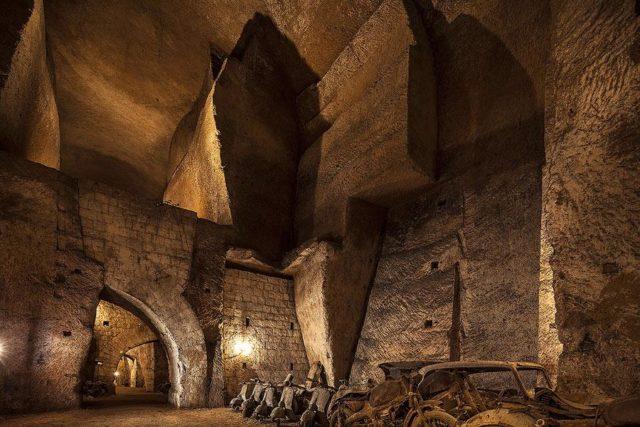 nartea tunnel borbonico
