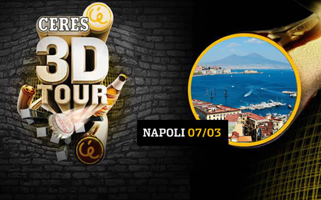 Ceres 3D Tour: Party gratis al Palapartenope