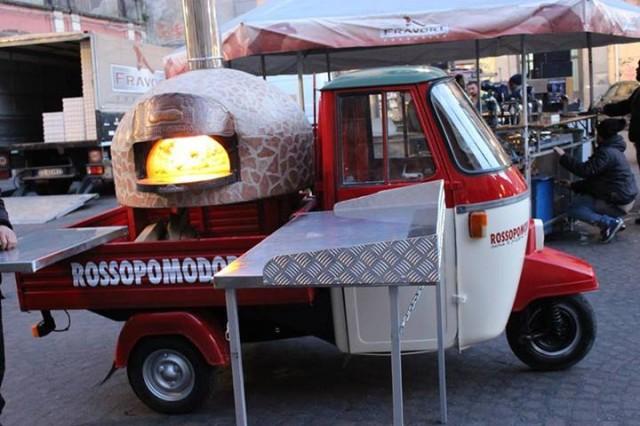 pizza ape car