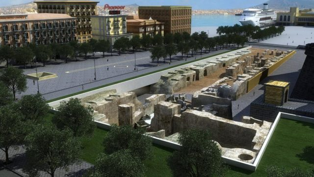 piazza municipio scavi archeologici