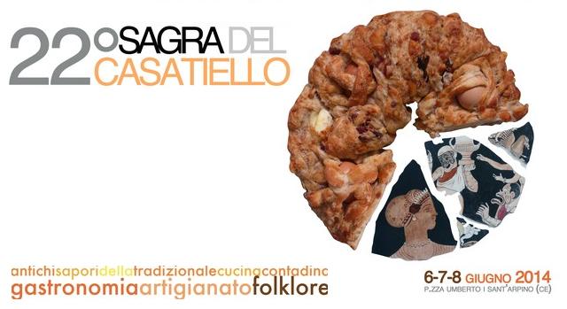 sagra del casatiello 2014 Sant'Arpino
