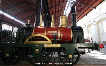 Il Museo ferroviario di Pietrarsa apre anche la sera del venerdi