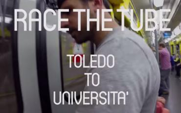Race the Tube: anche a Napoli la corsa contro la metropolitana