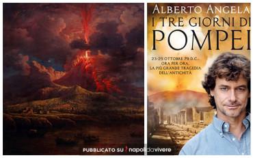 """Alberto Angela a Napoli per presentare """"I tre giorni di Pompei"""""""