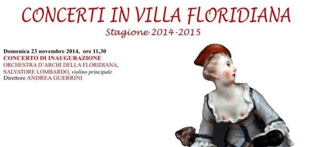 concerti in villa floridiana 2014-2015