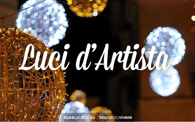 Le Luci d'Artista 2014 a Salerno con l'Aurora Boreale e le fiabe