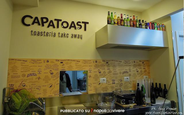 """""""Capatoast"""" la prima Toasteria take away a Napoli"""