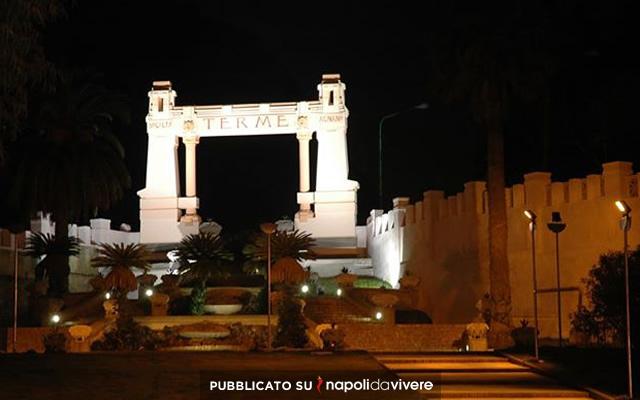 Una visita guidata serale alle terme di Agnano il 20 dicembre