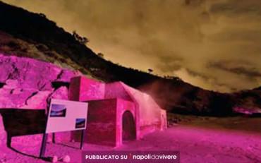 Visite guidate notturne alla Solfatara il 27 e 30 dicembre
