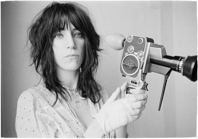 """Patti with Bolex-1, 1969"""
