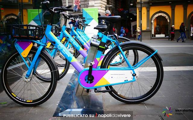 Bike Sharing a Napoli come funziona e quanto si paga