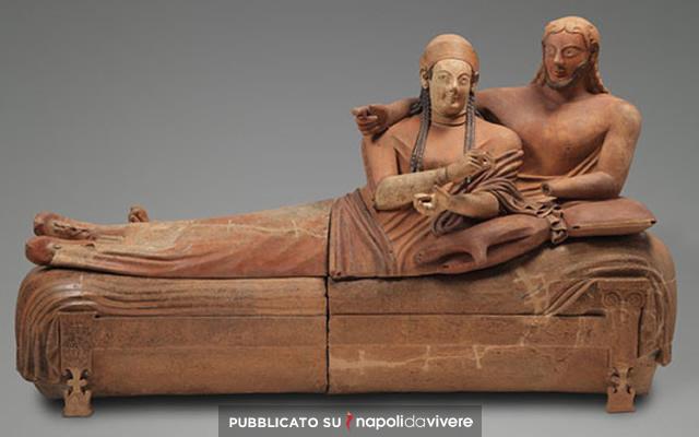 Un Museo archeologico Etrusco apre a Napoli