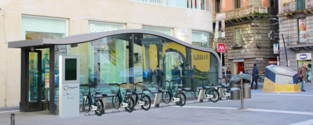 stazione toledo bike sharing napoli