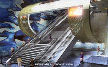 Metro San Pasquale a Chiaia: le foto della nuova stazione