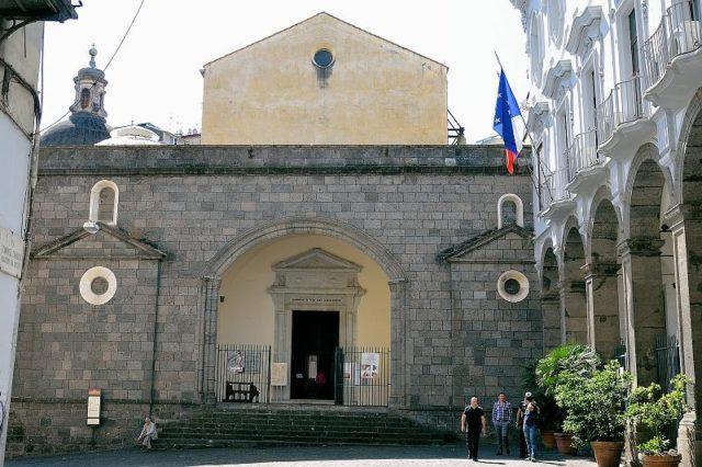 chiesa sant'anna dei lombardi napoli