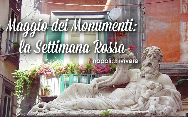 Maggio dei monumenti 2015 Programma settimana Rossa 1-7 maggio