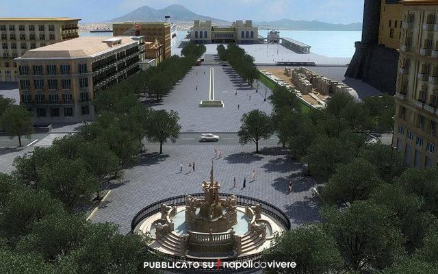 piazza municipio inaugurata 16 maggio