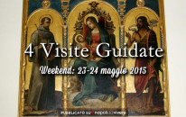 4 visite guidate da non perdere: weekend 23-24 maggio 2015