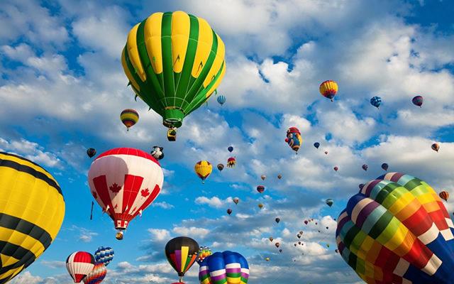 International Balloons Festival 2015 Raduno e voli in Mongolfiera napoli