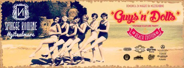 guys 'n' dolls vintage culture party nabilah
