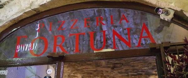 pizzeria fortuna pizza portafoglio