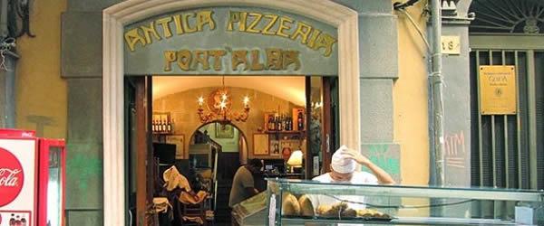 pizzeria port alba pizza portafoglio