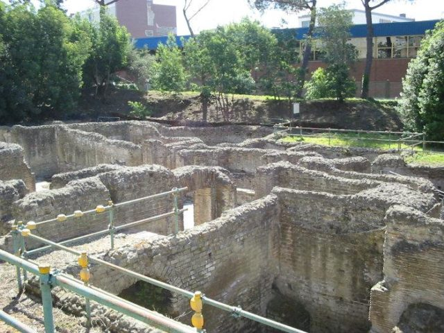 Le terme romane di via Terracina a Napoli
