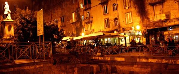 Notte Bianca delle Libro 2015 a Napoli piazza bellini