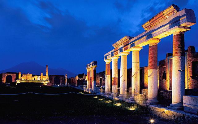 Sabato Notte al Museo ingresso a Pompei e Ercolano a 2€