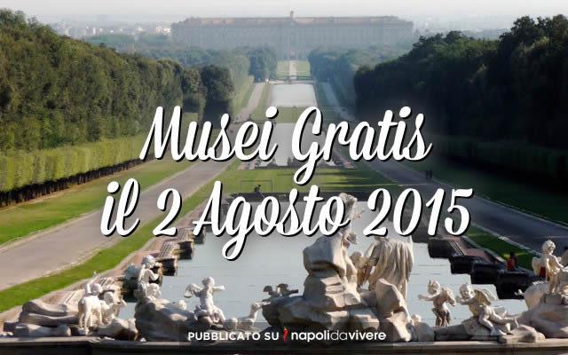 musei gratis 2 agosto 2015 domenicalmuseo
