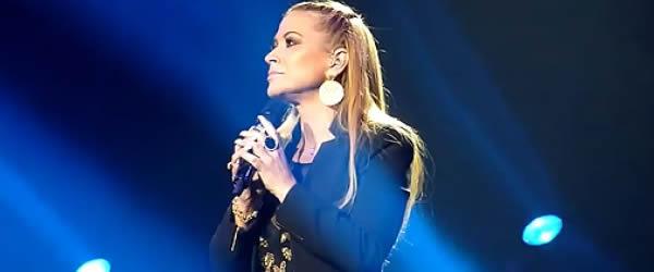 Anastacia in concerto a Napoli 2015