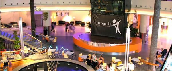 centro commerciale campania concerti