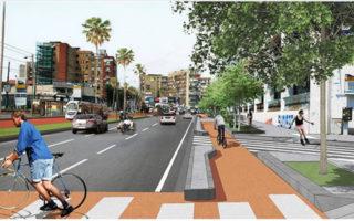 Riqualificazione di Via Marina con piste ciclabili e alberi | Le Foto del progetto