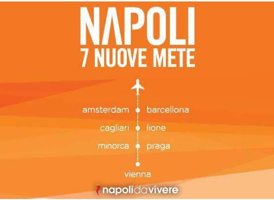 Easy jet annuncia 7 nuove destinazioni da Napoli 1